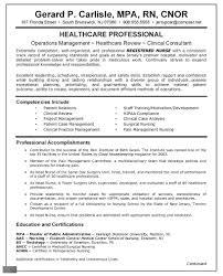Nursing Resume Builder Template Design