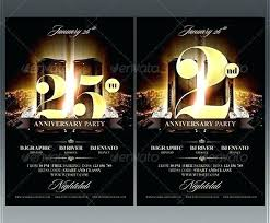 Anniversary Flyer Template For Free Download On Business Pastor