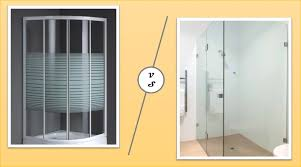 glass vs acrylic shower screen house