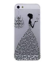 Mobile Cover Designs Handmade Nukkads Back Cover Case For Apple Iphone 5 5s Black