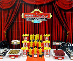 Hollywood Theme Decorations Sweeten Your Day Events Hollywood Teacher Appreciation Week
