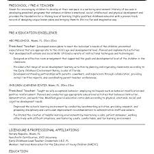 Resume Objective For Preschool Teacher. Resume Teacher Assistant ...