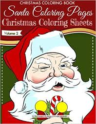 Christmas Coloring Book Santa Coloring Pages Christmas Coloring