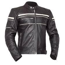 vito leather motorcycle jacket