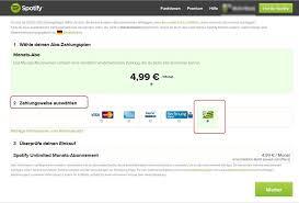 spotify premium codes einlösen