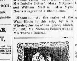 eugene guard in ore. nick and theresa married Mar 25 1897 - Newspapers.com