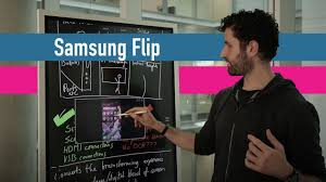 """<b>Samsung Flip</b> review 2hrs in: The 55"""" 4K whiteboard - YouTube"""