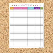 Master To Do List Printable Pdf Instant Download On Etsy 3 35