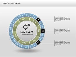 Timeline Calendar Presentation Template For Google Slides