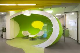 great office interiors. Yandex Saint Petersburg Office II By Za Bor Architects Is Transformed Using Branding And Iconography. Recognizable Symbols As Great Interiors