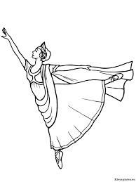 Ballet Kleurplaten Kleurplateneu