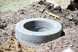 building a fire pit on concrete build concrete fire pit building fire pit on concrete