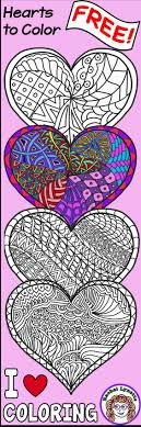 Grab These Free Heart Coloring Pages