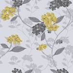 Grey and mustard wallpaper