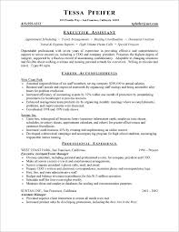 10 perfect resume administrative assistant cover letter executive administrative assistant resume