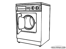 washing machine and dryer clipart. colouring in washing machine - google search and dryer clipart