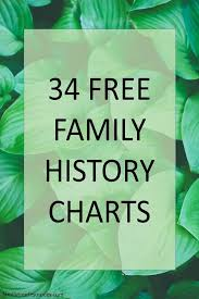 How To Make Family Tree On Chart Paper Family History Charts To Enhance And Document Your Research