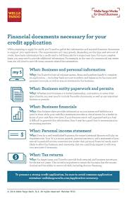 Business Account Application Business Financial Documents For The Credit Application