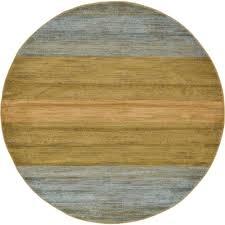 unique loom fars multi 6 x 6 round rug