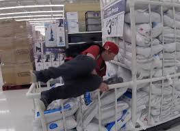 hr paper the ultimate hour toilet paper fort hour challenge in hour challenge in walmart parody slept in a toilet paper fort 24 hour challenge in walmart