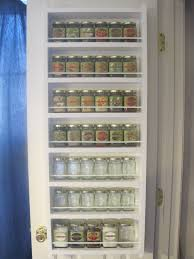 nice wooden e rack for pantry door and e rack behind pantry door organization home design
