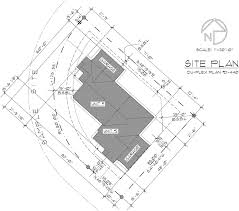 corner lot house plans. Additional Info For One Level Duplex House Plans, Corner Lot Single Plans R