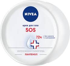 SOS-<b>крем для тела Nivea</b>, 200 мл — купить в интернет-магазине ...