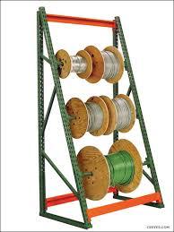 cable reel racks wire spool racks
