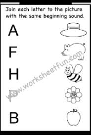On this worksheet, kids get phonics practice as they look at each picture, then circle the letter that makes the same beginning sound. Beginning Sound 12 Worksheets Free Printable Worksheets Worksheetfun