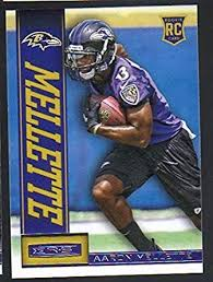 2013 Panini Rookies and Stars Football #102 RC Aaron Mellette Ravens at  Amazon's Sports Collectibles Store