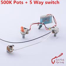 aliexpress com buy 1 set guitarfamily electric guitar wiring buy wiring harness for 72 honda cb350 1 set guitarfamily electric guitar wiring harness ( 2x 500k pots 5 way switch