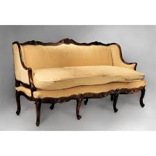 18th C French Provincial Régence Canape or Sofa from piatik on