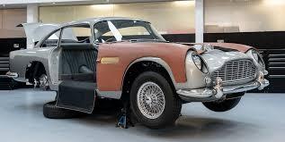 Aston Martin Db5 Continuation Working James Bond Movie Gadgets