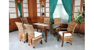 Tropical dining room furniture Oval Glass Dining Table Tropical Dining Room Sets Set On Rattan Welovedandelion Tropical Dining Room Sets Set Bedroom Suites Decor Ashleycross