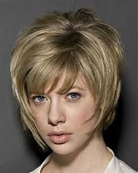 very short blonde bob layered bob hairstyles 10