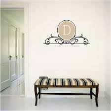 monogram wall decals 3