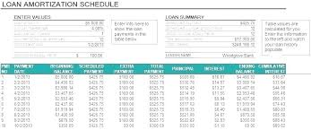 How To Create An Amortization Schedule In Excel Amortization Table