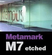 Coloured Sign Vinyl Metamark