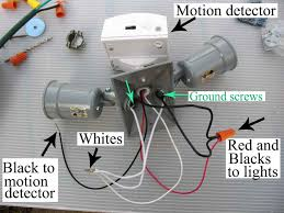 diy how wire occupancy sensor and motion detectors with wiring outdoor light plug diagram for to