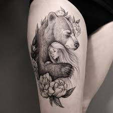 Bear Tattoo Meaning And Symbolism The Wild Tattoo One Tattoos