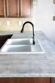 white concrete beautiful feather finish s bless er house countertop mix 2