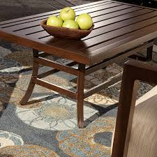 Java Coffee Table Coffee Table Audrey Collection Java Brown Thos Baker