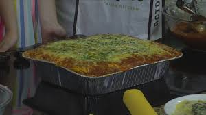 celebrating take our daughters and sons to work day with lasagna from olive garden