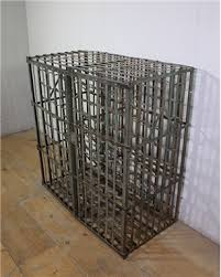 French Square Wine Cage