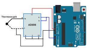 Arduino Thermocouple Interfacing With Arduino Uno