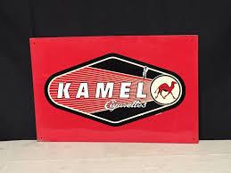 Kamel Red Light Vintage 1998 Kamel Cigarettes Metal Advertising Sign Store