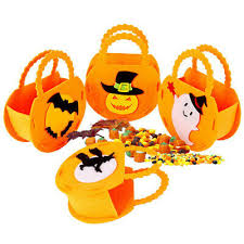 <b>Portable Halloween Pumpkin Shape</b> Candy Bag Storages Bucket ...