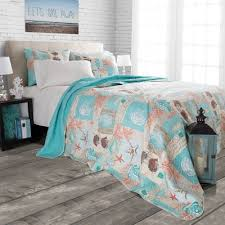 Highland Dunes Yush Nautical Starfish Quilt Set & Reviews | Wayfair &  Adamdwight.com