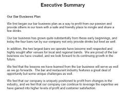 executive business plan template project summary template proposal executive summary template