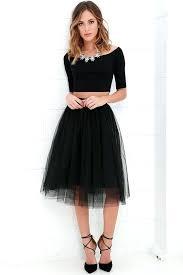 tulle skirt black urban fairy tale long diy